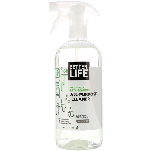 Better Life, Универсальное чистящее средство, без запаха, 32 жидкие унции (946 мл)