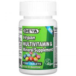 Deva, Мультивитаминная и минеральная добавка, 90 таблеток