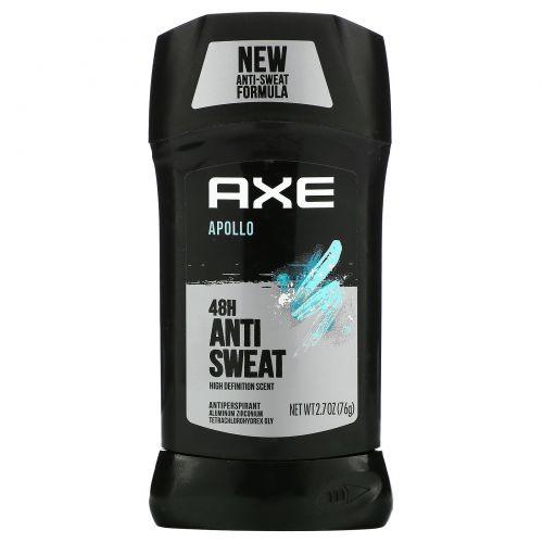 Axe, Apollo, дезодорант-антиперспирант, 48часов сухости, 76г