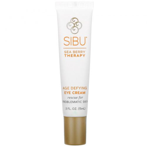 Sibu Beauty, Омолаживающий антивозрастной крем для глаз с облепихой, 5 жидких унций (15 мл)