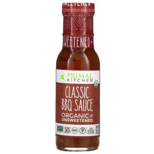 Primal Kitchen, Organic, Classic BBQ Sauce, Unsweetened,  8.5 oz (241 g)