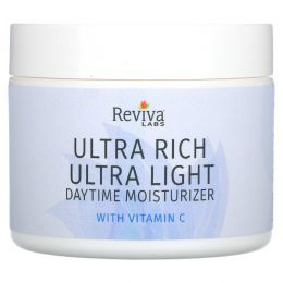 Reviva Labs, Ультра-обогащенный и ультра-легкий дневной увлажняющий крем, 42 г