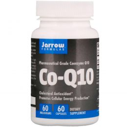 Jarrow Formulas, Коэнзим-Q10, 60 мг, 60 капсул
