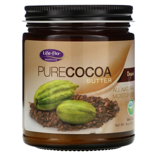 Life Flo Health, Чистое масло какао, 266 мл