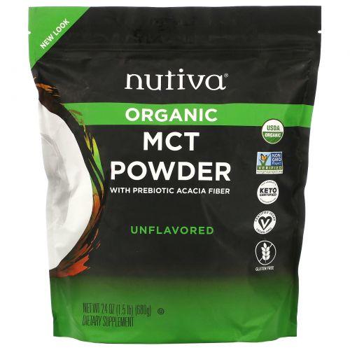 Nutiva, MCT Powder, 24 oz (689 g)
