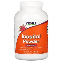 Now Foods, Инозитол, порошок, 1 фунт (454 г)