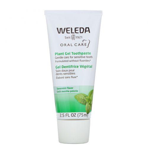 Weleda, Зубная паста Plant Gel Toothpaste, 2,5 жидких унций (75 мл)
