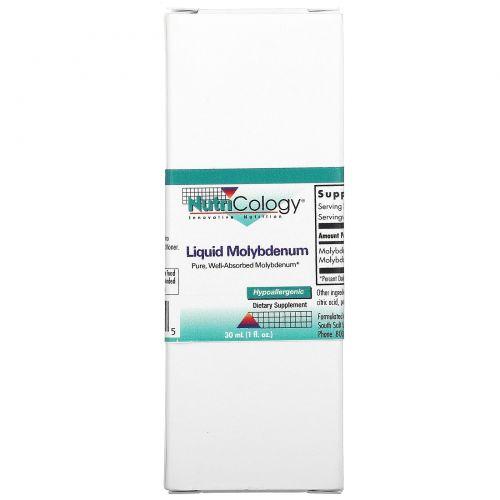 Nutricology, Жидкий молибден, 1 жидкая унция (30 мл)