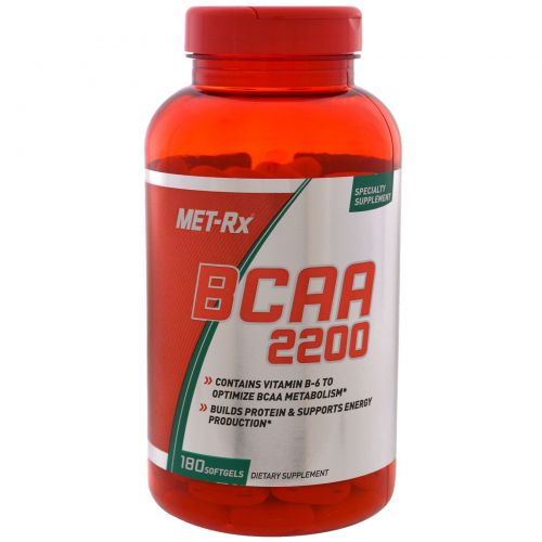 MET-Rx, BCAA 2200,  180 capsules