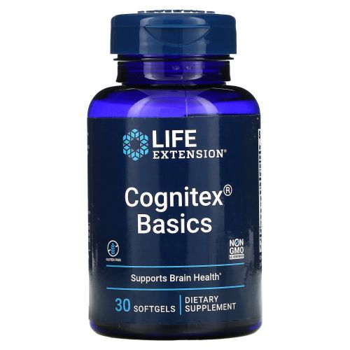Life Extension, Cognitex Basics, 30 Softgels