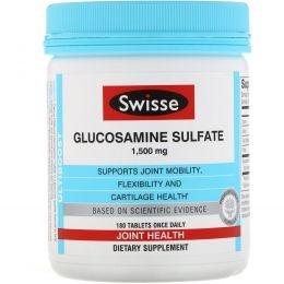 Swisse, Ultiboost, Glucosamine Sulfate, 1,500 mg, 180 Tablets