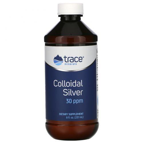 Trace Minerals Research, Коллоидное серебро, 30 частей на миллион, 8 жидких унций (237 мл)