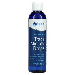Trace Minerals Research, ConcenTrace, микроэлементы в форме капель, 8 жидких унций (237 мл)