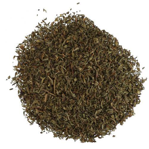 Starwest Botanicals, Органический лист тимьяна C/S, 1 фунт (453,6 г)