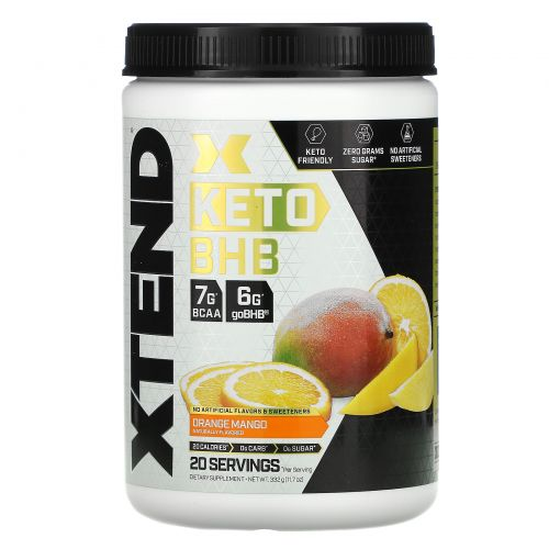 Scivation, Xtend, Keto BHB, Orange Mango, 11.7 oz (332 g)
