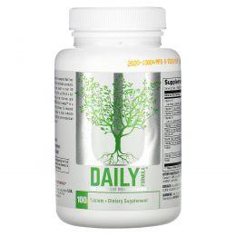 Universal Nutrition, Daily Formula, комплекс мультивитаминов и минералов, 100 таблеток