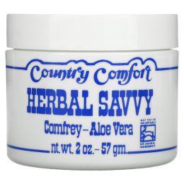Country Comfort, «Травяной эксперт», окопник - алоэ вера, 2 унции (57 г)