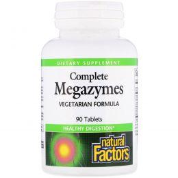 Natural Factors, Complete Megazymes, 90 таблеток