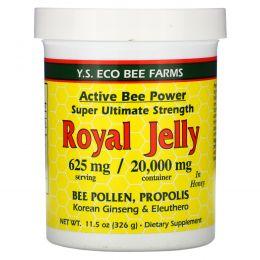 Y.S. Eco Bee Farms, Королевское желе в меду, 625 мг, 11,5 унций (326 г)