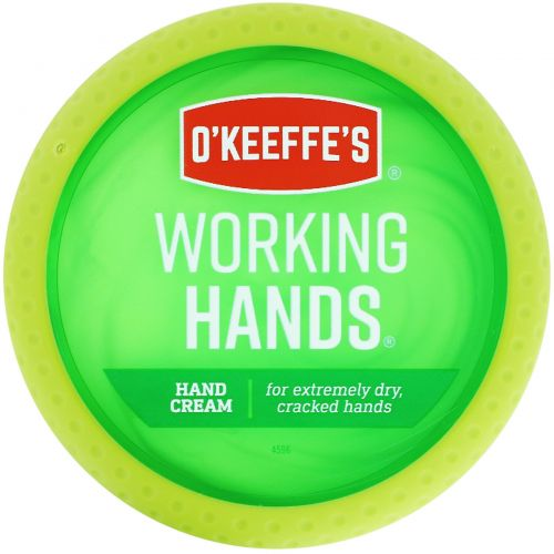 O'Keeffe's, Крем для натруженных рук, 3,4 унции (96 г)