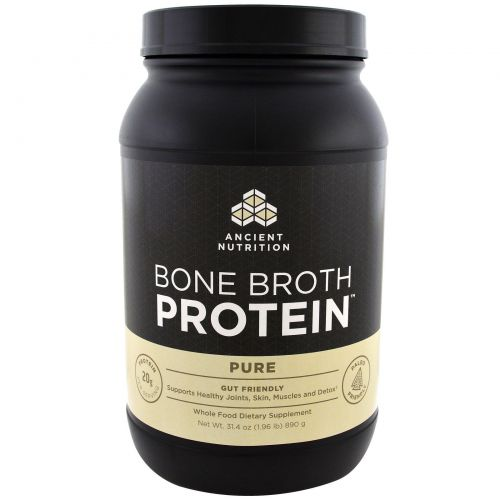 Ancient Nutrition, Протеин Bone Brot, чистый, 31.4 унц. (890 г.)