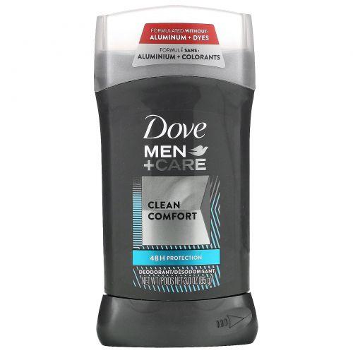 Dove, Men + Care, дезодорант, «Чистый комфорт», 85г (3унции)