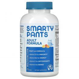 SmartyPants, Комплекс мультивитаминов для взрослых + Омега 3 + Витамин D, 180 Вкусных Жевательных Мармеладок