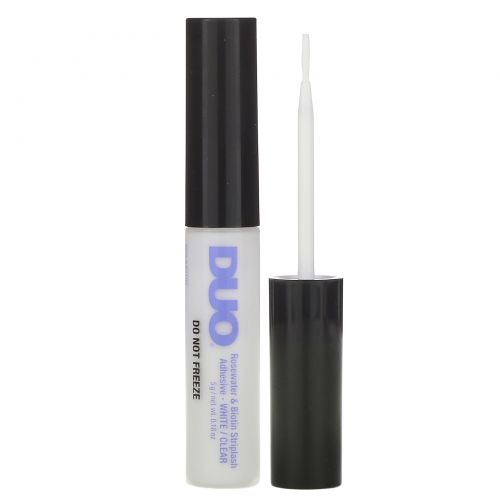 DUO, Rosewater & Biotin Striplash Adhesive, White/Clear, 0.18 oz (5 g)