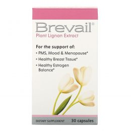 Barlean's, Brevail, Экстракт растительного лигнина, 30 капсул