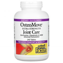 Natural Factors, OsteoMove, Joint Care, 240 Tablets
