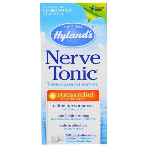 Hyland's, Тоник для нервов, 500 таблеток