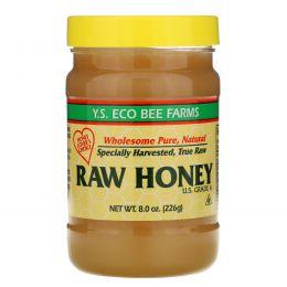 Y.S. Eco Bee Farms, Неочищенный мед, 226 г (8,0 унций)