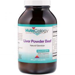 Nutricology, Liver Powder Beef, порошок, 200 г