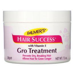 Palmer's, Hair Success, Gro Treatment с витамином E, 7,5 унций (200 г)
