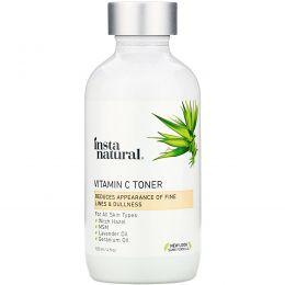 InstaNatural, Тоник для лица с витамином С, хризантема, 120 мл (4 унции)