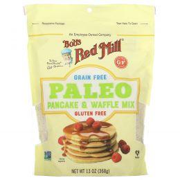 Bob's Red Mill, Без зерна, палео-смесь для блинов и вафель, 368 г (13 унций)