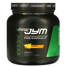 JYM Supplement Science, High-Performance Pre-Workout, Tangerine, 17.9 oz (508 g)