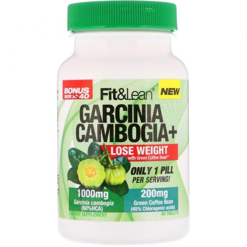 Fit & Lean, Garcinia Cambogia+, 40 Tablets