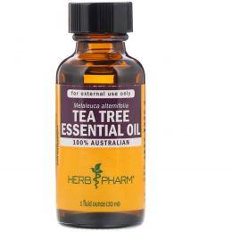 Herb Pharm, Масло Чайного Дерева 1 жидких унции (29.6 мл)
