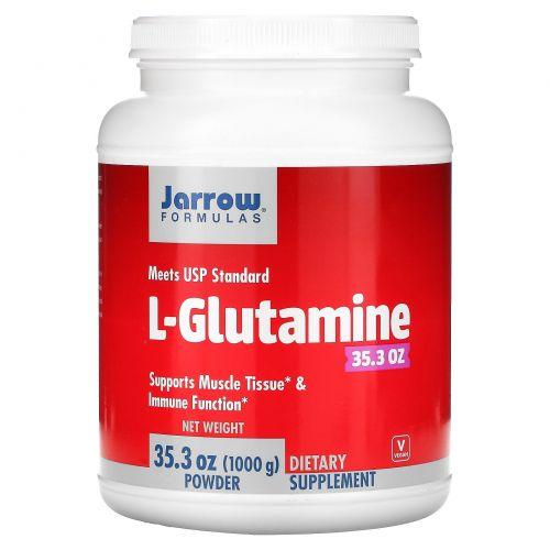 Jarrow Formulas, L-глутамин, 35,3 унции (1000 г) в порошке