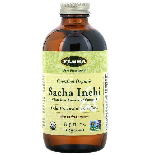 Flora, Органический сача инчи, 8,5 жидк. унц. (250 мл)