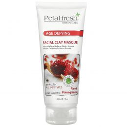 Petal Fresh, Botanicals Aloe &  Pomeganate Clay Facial Masque, 7.oz