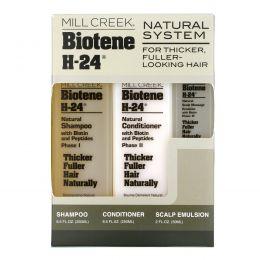 Mill Creek, Biotene H-24, Природный комплекс, Набор из 3 средств