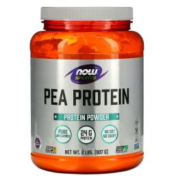 Now Foods, Протеин гороха, без запаха, 2 фунта (907 г)