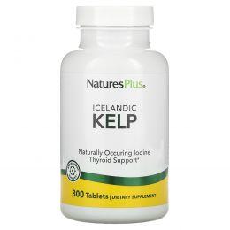 Nature's Plus, Бурая водоросль, 300 таблеток