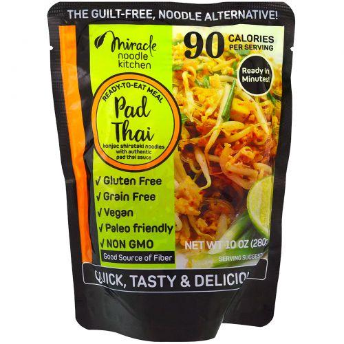 Miracle Noodle, Готовая еда, тайская лапша, 280 г (10 унц.)