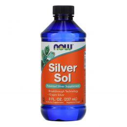 Now Foods, Silver Sol, 8 жидких унций (237 мл)