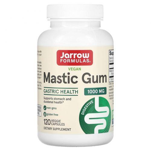 Jarrow Formulas, Смола мастикового дерева 500 мг, 120 вегетарианских капсул