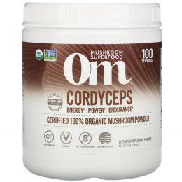 Organic Mushroom Nutrition, Кордицепс, грибной порошок, 7.14 унций (200 г)
