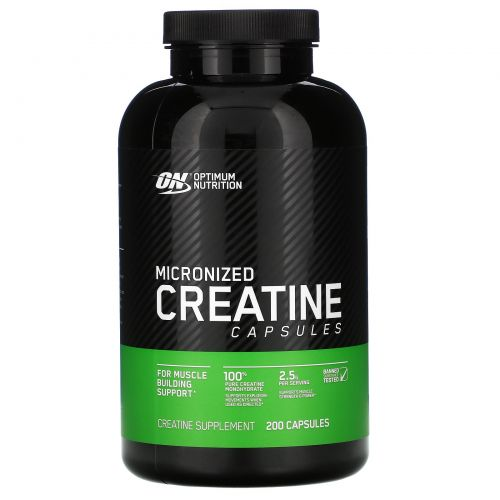 Optimum Nutrition, Креатин Creatine 2500 Caps, 200 капсул